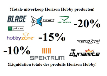 Total sales on Horizon Hobby products