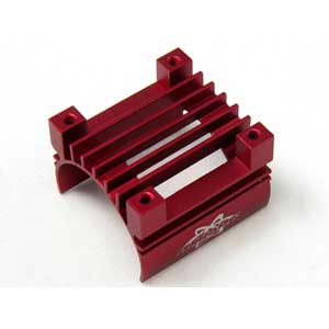 Alu. 380 Motor Heat Sink - Red