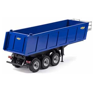 3 Axle Dumper Semi Trailer 1/14 Kit