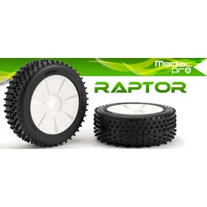 Raptor II glued on yellow spoke rims LIQUIDATION