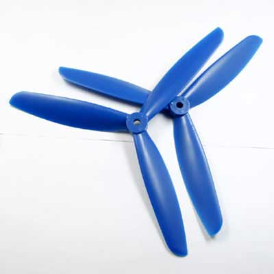 Multicopter 3Blad Propeller Set 5x4.5 Blauw