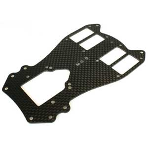 Scalpel Lower chassis-plate Carbon Fiber 1.5mm
