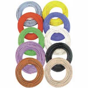 Wire 0.055qmm 10m Yellow