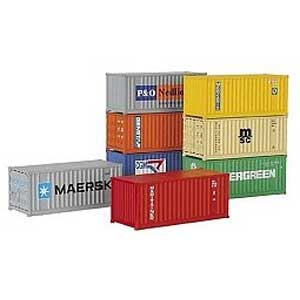 20&quot Containers Set (H0)