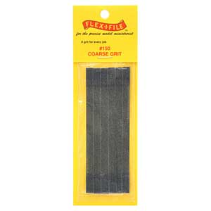 Flex-I-File Refill Tape Coarse 150 (6)