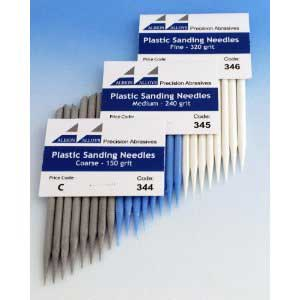 Plastic Sanding Needles Coarse 150 (8)