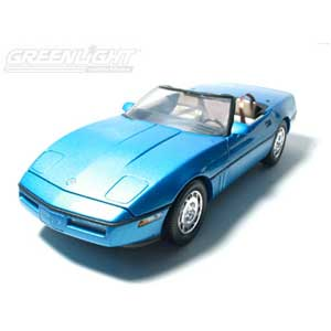 Corvette Convertible - Nassau Blue Metallic 1986 (1/18)