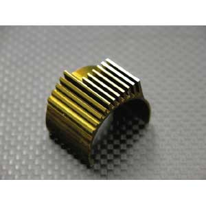 Alloy 400/380 Motor Heat Sink Blue