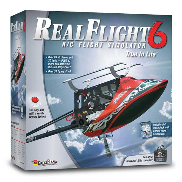 Real Flight Heli Simulator G6 Mode2