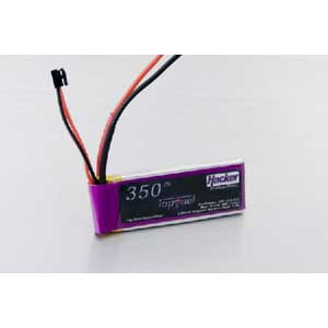 Top Fuel HACKER LiPo 30C 350MAH 2C 7.4V LIQUIDATION