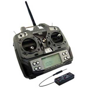 Optic 6 2.4GHz with Receiver Optima7 + 2x HS-55 (Mode2)