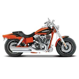 Harley-Davidson FXDFSE CVO Fat Boy 2009 Red (1/18)