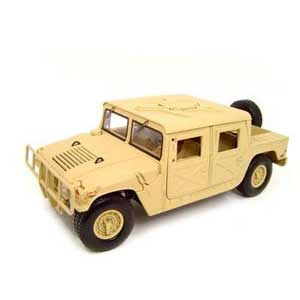 Humvee H1 Troop Carrier Beige (1/18)