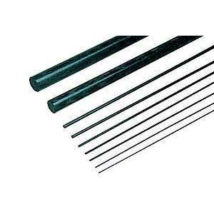 Carbon Fiber Rods 0.5x610mm 2Pcs