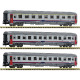 NMBS SNCB 3 piece set Eurofima coaches (N)
