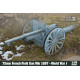 75mm French Field Gun Mle 1897 World War I (1/35)