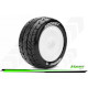 E-Rocket Rear tyres with white rims (1/10)