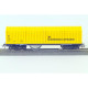 Rail and overhead catenaries beveling wagon (H0-AC)