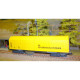 Rail and overhead catenaries beveling wagon (H0-DC)