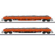 RTS Ballast Transport Low Side Car Set (H0)