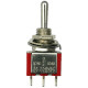 Mini-impulse-switch (ON)-OFF-(ON) 250V/2.0A