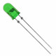 3mm led green 4000MCD 4-19V