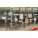 Allied Road Signs WWII. European Theatre of Operations (1/35)