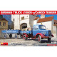 German Truck L1500S w/Cargo Trailer (1/35)