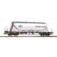 Alpha / Wascosa Covered Hopper Car Uacns (H0)