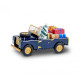 Land Rover Christmas model with figure (H0)