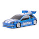 Clear Body Supastox Hot Hatch Type FF (1/12)