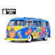 M-06L VW Type 2 T1 Flower Power Pre-Cut and Painted Kit (1/10)