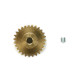 27T Hard Coated Aluminium Pinion Gear (0.6 Module)