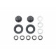 Hub Nuts for Single Wheels - Black (2Pcs)