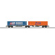 PKP Cargo Type Sggrss Double Container Transport Car (H0)